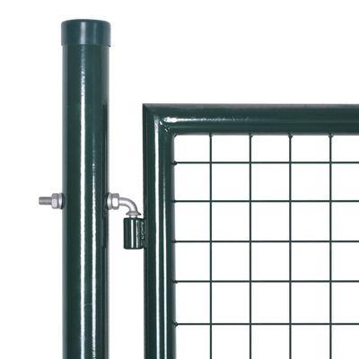 vidaXL Nätad stängselgrind 289 x 75 cm / 306 x 125 cm