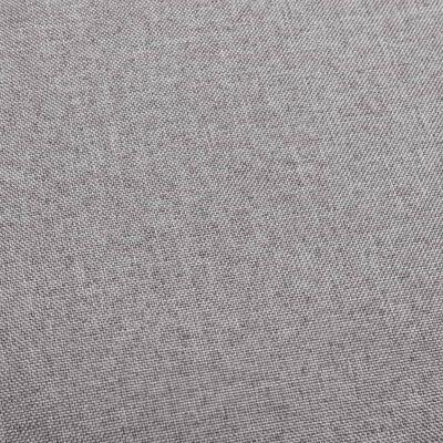 vidaXL Barstol ljusgrå tyg