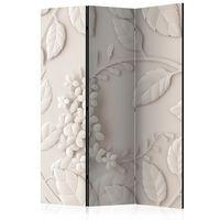 Rumsavdelare - Paper Flowers (cream)   - 135x172 Cm