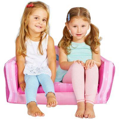 Disney Foldable Sofa Princess 105x68x26 cm Pink WORL660021