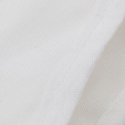 vidaXL Båtkapell 4 bågar vit 243x210x137 cm