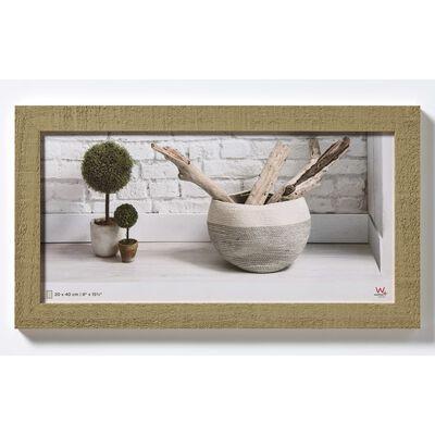 Walther Design Fotoram Home 20x40 cm beige+brun