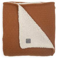 Jollein Filt Bliss Knit 75x100 cm teddy ljusbrun