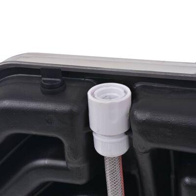 vidaXL Soldusch 20 L aluminium HDPE