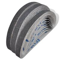 vidaXL Slipband 30-pack Korn 60/80/120 10 mm x 330 mm