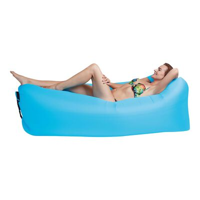 Happy People Chillbag Lounger To Go 2.0 blå 100 kg