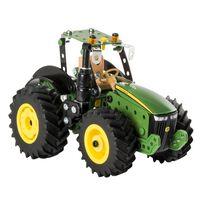 Meccano Modellsats traktor John Deere 8RT grön svart ,