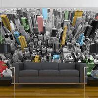 Fototapet - Ny Kaleidoscope - 400x309 Cm