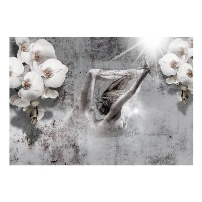 Fototapet - Arrangement With Orchid - 100x70 Cm