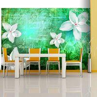 Fototapet - Floral Notes Iii - 250x175 Cm,