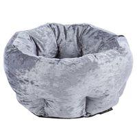 Scruffs Djurbädd sammet grå