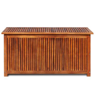 vidaXL Dynbox 117x50x58 cm massivt akaciaträ