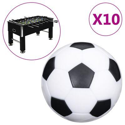 vidaXL Fotbollar för fotbollsbord 10 st 32 mm ABS