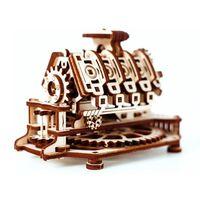 Eco-Wood-Art Byggmodell i trä V8-motor