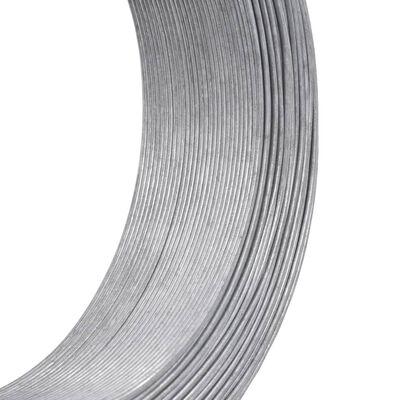 vidaXL Stagtråd 250 m 1,4 mm stål