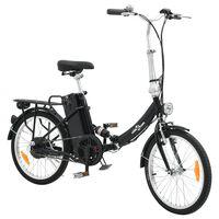 Ihopfällbar elektrisk cykel med litium-jon batteri och aluminium legering