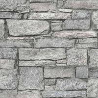 DUTCH WALLCOVERINGS Tapet gammal tegelsten grå