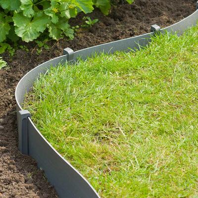 Nature Peggar till trädgårdsbåge 10 st grå