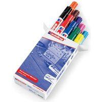 edding Permanenta märkpennor 10 st flerfärgad 3300