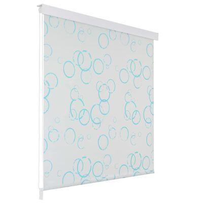 vidaXL Rullgardin för dusch 140x240 cm bubbla