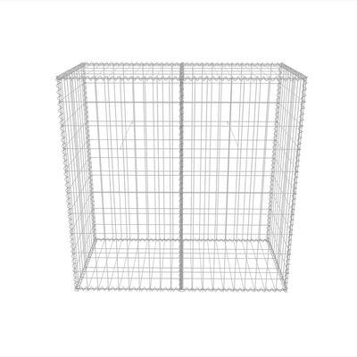 vidaXL Gabionkorg galvaniserat stål 100x50x100 cm