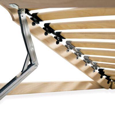 vidaXL Ribbotten med 28 ribbor 7 zoner 80x200 cm