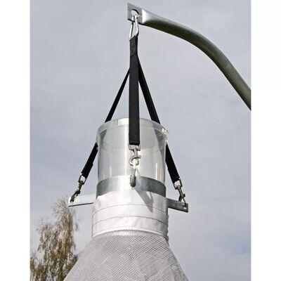 Kerbl Bromsfälla TaonX galvaniserad järn vit och svart 323520