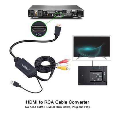 HDMI till AV omvandlare - HDMI till RCA