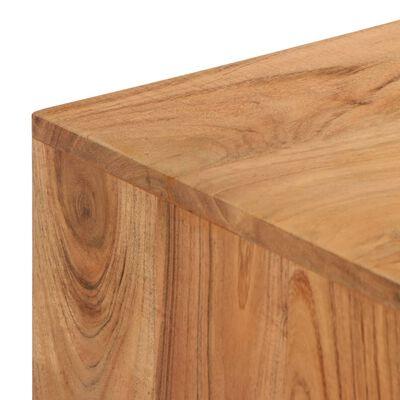 vidaXL Skrivbord massivt akaciaträ 118x45x76 cm