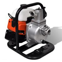 vidaXL Vattenpump bensindriven 2-takt 1,2 kW 0,95 L
