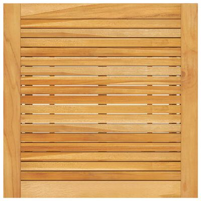 vidaXL Barbord för trädgården 70x70x104 cm massivt akaciaträ