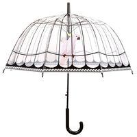 Esschert Design Paraply genomskinligt fågelbur