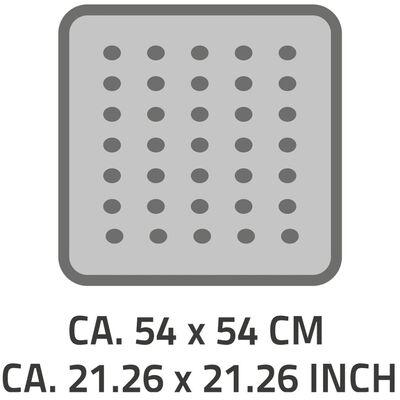 RIDDER Halkfri duschmatta Playa 54x54 cm svart 68410