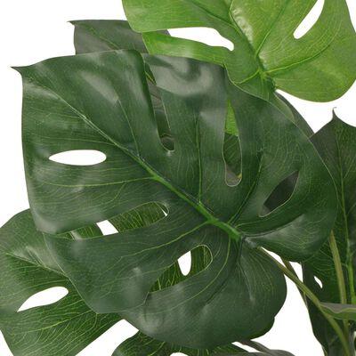vidaXL Konstväxt Monstrera med kruka 70 cm grön