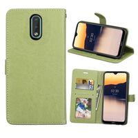 Mobilplånbok 3-kort Nokia 2.3 (TA-1211) Grön