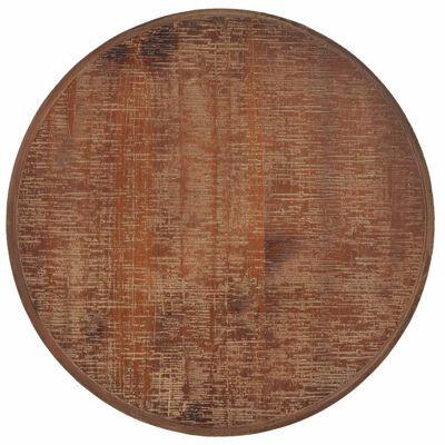 vidaXL Avlastningsbord massivt granträ 40x64 cm brun