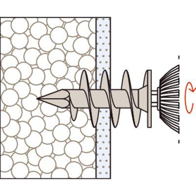 Fischer Isoleringsskruv set FID 90 90 mm 25 st