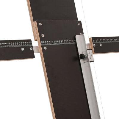 vidaXL Frigolitsåg med ben 200W plywood