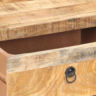 vidaXL Soffbord 90x60x29 cm grovt mangoträ