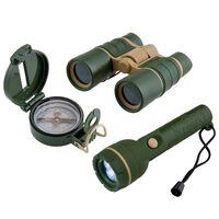 Scout Äventyrsleksaker 3 delar militärgrön
