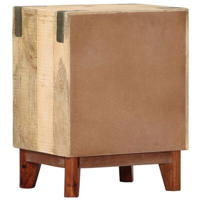vidaXL Sängbord 40x30x52 cm massivt robust mangoträ