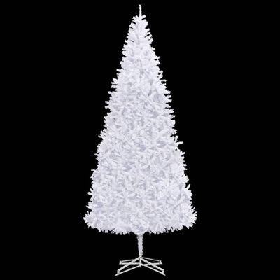 vidaXL Plastgran 500 cm vit , Vit