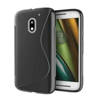 S Line silikon skal Motorola Moto E3 (XT1700) Svart