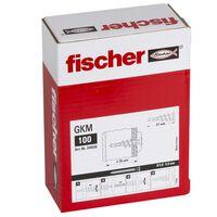 Fischer Gipspluggar GKM 100 st