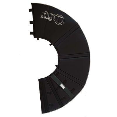 All Four Paws Hundkrage Comfy Cone XL 30 cm svart