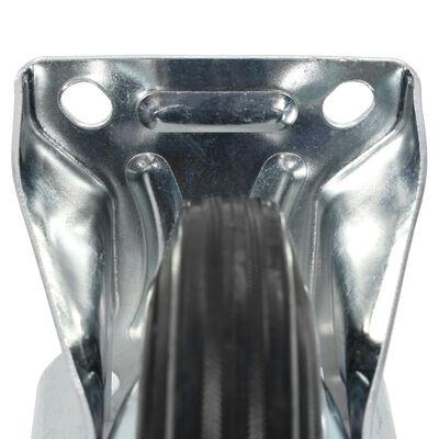 vidaXL Fasta hjul 12 st 160 mm