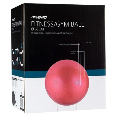 Avento Gymnastikboll dia. 65 cm rosa