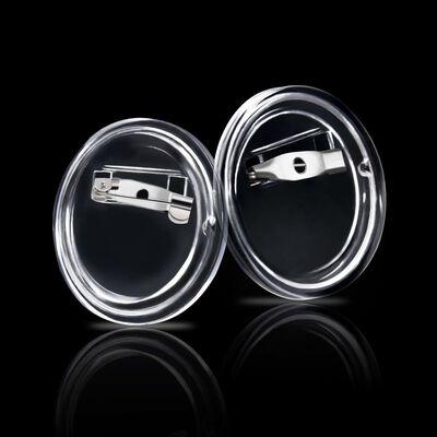 vidaXL Knappar med nålar 100 uppsättningar akryl 25 mm ,