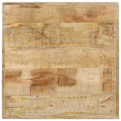 vidaXL Cafébord 60x60x76 cm grovt mangoträ