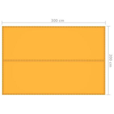 vidaXL Tarp 3x2 m gul